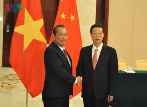 Việt Nam tăng cường quan hệ hợp tác hữu nghị với Trung Quốc - ảnh 1