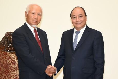 Thủ tướng Nguyễn Xuân Phúc tiếp cựu Chủ tịch Tập đoàn Taisei - ảnh 1
