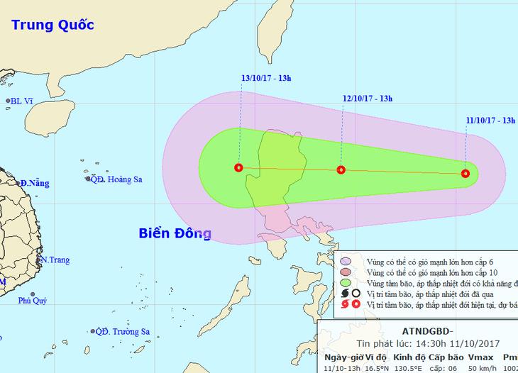 Các tỉnh Tây bắc chịu ảnh hưởng nặng nề do ảnh hưởng của áp thấp nhiệt đới - ảnh 1