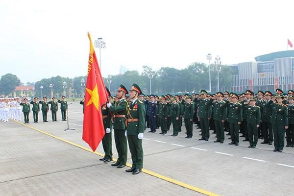 Khai mạc Đại hội đại biểu Đoàn Thanh niên cộng sản Hồ Chí Minh Quân đội lần thứ IX - ảnh 1