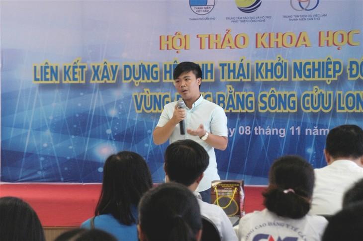 Liên kết xây dựng hệ sinh thái khởi nghiệp đổi mới sáng tạo vùng Đồng bằng sông Cửu Long - ảnh 1