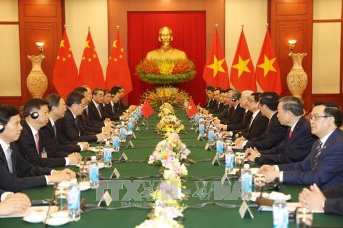Lễ đón chính thức Tổng Bí thư, Chủ tịch Trung Quốc Tập Cận Bình - ảnh 4