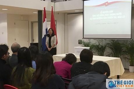 Cộng đồng người Việt Nam tại Hà Lan ủng hộ đồng bào bị thiên tai - ảnh 1