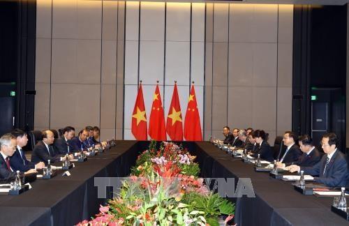 Việt Nam và Trung Quốc nhất trí thúc đẩy thương mại song phương phát triển cân bằng - ảnh 1