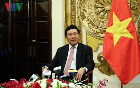 Phó Thủ tướng Phạm Bình Minh thông báo kết quả Tuần lễ cấp cao APEC 2017 - ảnh 1