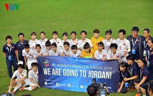 Liên đoàn bóng đá Châu Á ca ngợi tuyển nữ Việt Nam - ảnh 1