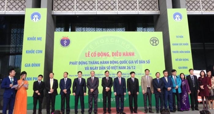 Phát động Tháng hành động quốc gia về dân số và Ngày dân số Việt Nam  - ảnh 1