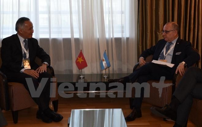 Việt Nam và Argentina thỏa thuận thúc đẩy trao đổi thương mại - ảnh 1