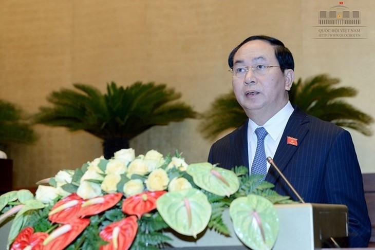 Chủ tịch nước Trần Đại Quang: Quân đội nhân dân anh hùng của dân tộc Việt Nam anh hùng - ảnh 1