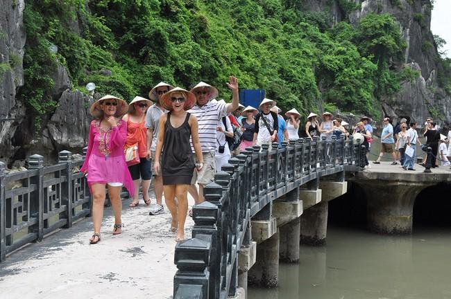 Khách quốc tế đến Việt Nam năm 2017 đạt mức 12,9 triệu lượt - ảnh 1