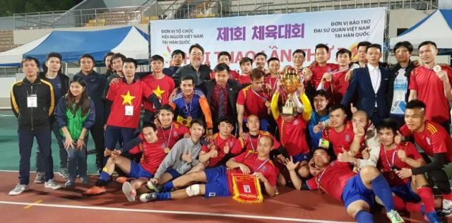 Hội người Việt Nam tại Hàn Quốc tổ chức Hội thao lần thứ nhất - ảnh 5