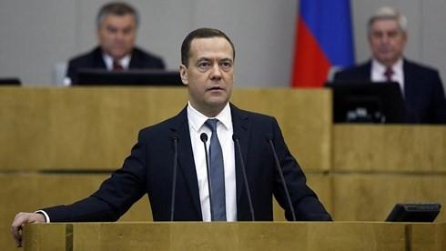 Thủ tướng Nguyễn Xuân Phúc gửi điện mừng Thủ tướng Nga - ảnh 1
