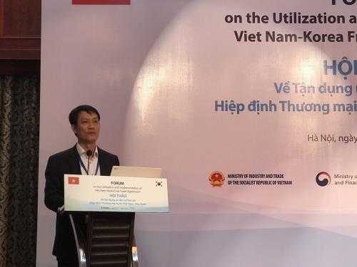 Tận dụng ưu đãi Hiệp định Thương mại Tự do Việt Nam - Hàn Quốc - ảnh 1