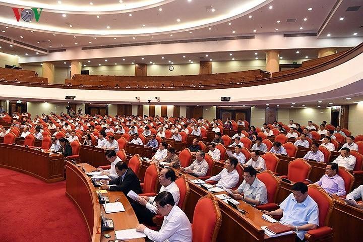 Ngày làm việc thứ 3 Hội nghị lần thứ 7 BCH Trung ương Đảng - ảnh 1