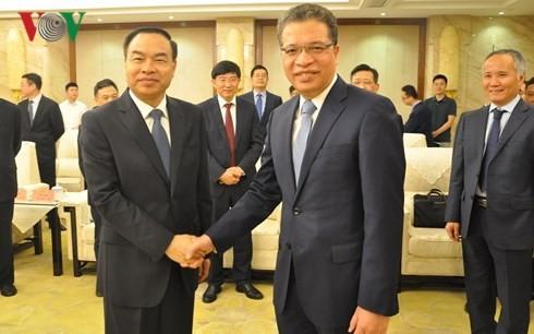 Đại sứ Việt Nam tại Trung Quốc làm việc với Thị trưởng Trùng Khánh - ảnh 1