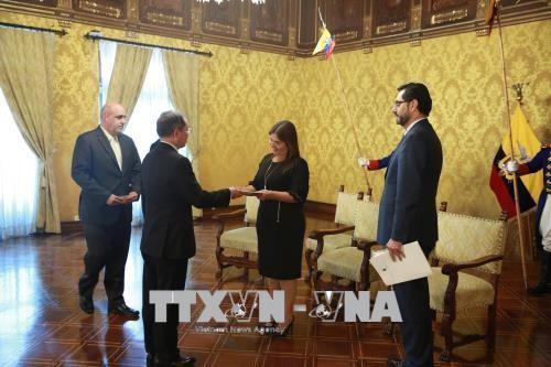 Ecuador và Việt Nam tăng cường hợp tác trong nhiều lĩnh vực - ảnh 1