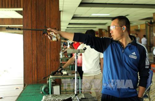 Đội tuyển bắn súng Việt Nam dự cúp bắn súng thế giới tổ chức ở Munich (CHLB Đức) - ảnh 1
