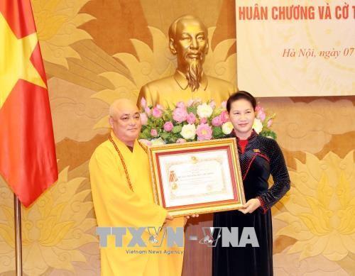 Truy tặng, trao tặng Huân chương, Cờ thi đua cho tập thể, cá nhân có đóng góp cho Quốc hội - ảnh 1
