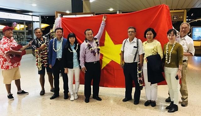 Thứ trưởng Bộ Ngoại giao Vũ Hồng Nam thăm Tahiti - ảnh 3