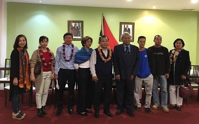 Thứ trưởng Bộ Ngoại giao Vũ Hồng Nam thăm, làm việc tại Vanuatu - ảnh 4