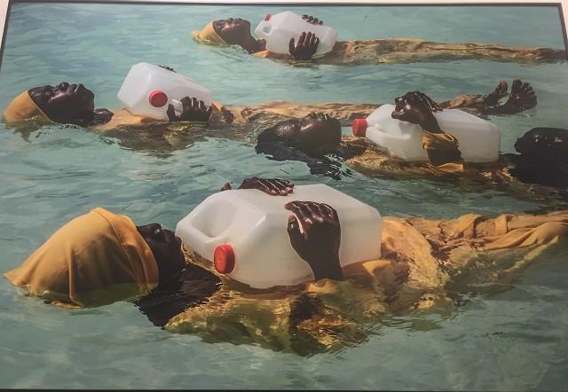 Trưng bày 130 tác phẩm tiêu biểu đạt giải Ảnh Báo chí Thế giới tại Đại học Mỹ thuật Việt Nam - ảnh 3