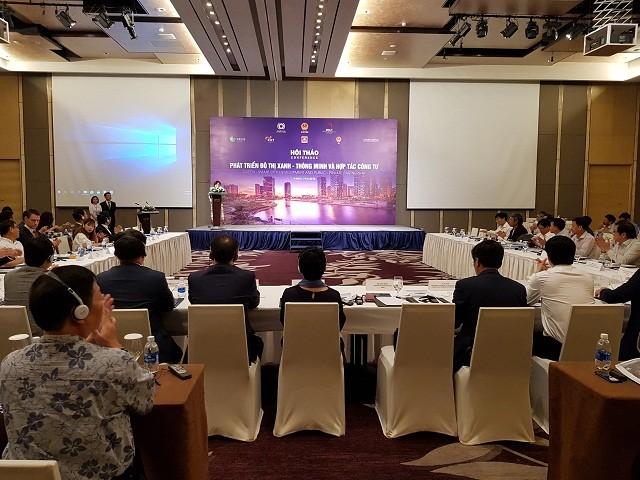 Việt Nam hướng tới phát triển đô thị thông minh, tăng trưởng xanh - ảnh 1