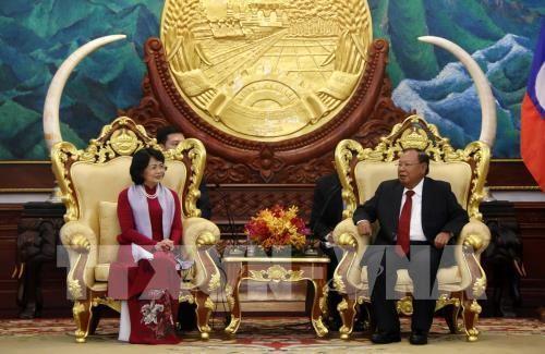 Các hoạt động của Phó Chủ tịch nước Đặng Thị Ngọc Thịnh trong chuyến thăm chính thức Lào - ảnh 1