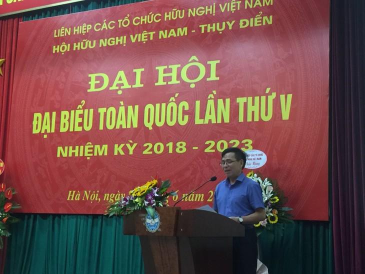 Đại hội đại biểu toàn quốc Hội Hữu nghị Việt Nam – Thụy Điển lần thứ V nhiệm kỳ 2018-2023 - ảnh 1
