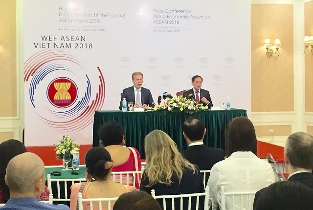 WEF ASEAN 2018 thúc đẩy hợp tác trong bối cảnh cách mạng công nghiệp 4.0 - ảnh 1