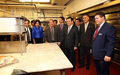 Phó Thủ tướng Chính phủ Vương Đình Huệ kết thúc tốt đẹp chuyến thăm chính thức Hoa Kỳ - ảnh 1