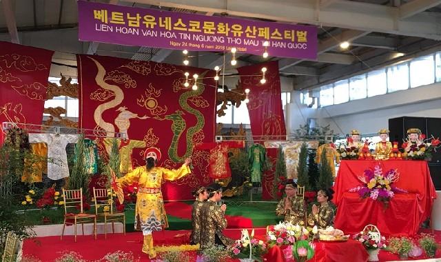 Liên hoan văn hóa tín ngưỡng thờ Mẫu tại Hàn Quốc - ảnh 1