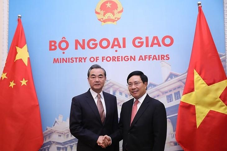 Bộ trưởng Ngoại giao Trung Quốc điện thăm hỏi các tỉnh miền Bắc của VN chịu thiệt hại do mưa lũ - ảnh 1