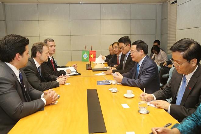 Phó Thủ tướng Vương Đình Huệ thăm chính thức Cộng hòa Liên bang Brasil - ảnh 1