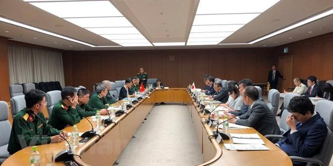 Việt Nam - Nhật Bản tiến hành đối thoại chính sách quốc phòng lần 6 - ảnh 1