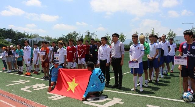 Khởi tranh vòng loại Đại hội thể dục thể thao sinh viên Việt Nam tại Hàn Quốc lần thứ 11 - ảnh 1