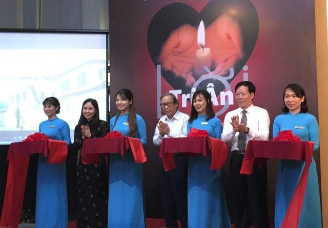 """Khai mạc trưng bày chuyên đề """"Lời tri ân"""" tại Hà Nội - ảnh 1"""