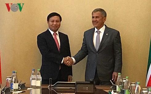 Nhiều triển vọng hợp tác giữa Việt Nam và Cộng hòa Tatarstan - ảnh 1
