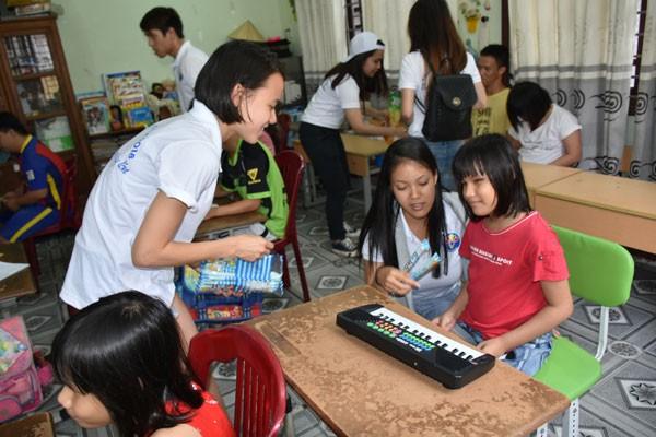 Đại biểu trại hè VN 2018 giao lưu với thanh niên tỉnh Quảng Nam - ảnh 4