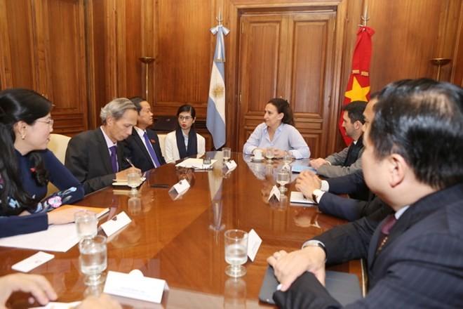 Việt Nam và Argentina thúc đẩy quan hệ đối tác mang tầm chiến lược - ảnh 1