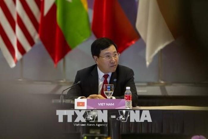 Hội nghị Cấp cao Đông Á lần thứ 8: các nước Đông Á tăng cường hợp tác trong lĩnh vực hàng hải - ảnh 1