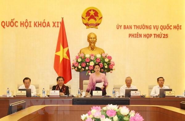 Phiên họp thứ 26 Ủy ban Thường vụ Quốc hội diễn ra từ ngày 8-13/8 - ảnh 1
