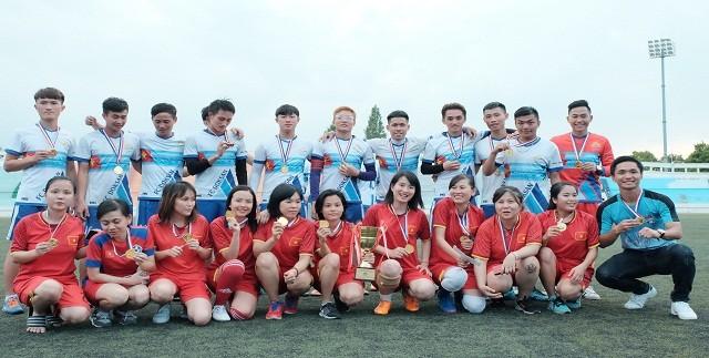 Đại hội thể dục thể thao lần thứ 11 – sân chơi bổ ích gắn kết du học sinh Việt Nam tại Hàn Quốc - ảnh 13