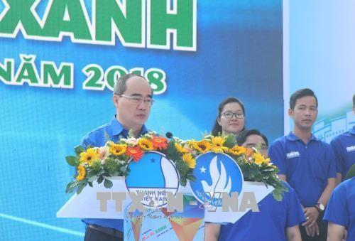 Phong trào tình nguyện góp phần phát triển kinh tế-xã hội thành phố Hồ Chí Minh - ảnh 1