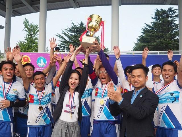Đại hội thể dục thể thao lần thứ 11 – sân chơi bổ ích gắn kết du học sinh Việt Nam tại Hàn Quốc - ảnh 2