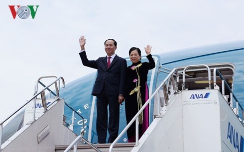 Chủ tịch nước Trần Đại Quang lên đường thăm cấp Nhà nước đến Ethiopia và Ai Cập - ảnh 1