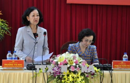 Trưởng Ban Dân vận Trung ương Truơng Thị Mai: Tỉnh Yên Bái tập trung nguồn lực cho giảm nghèo bền vững - ảnh 1