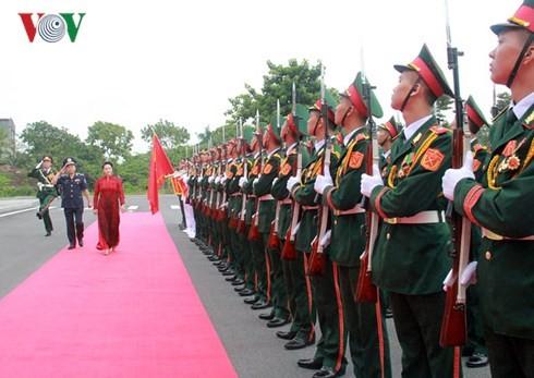 Chủ tịch Quốc hội dự Lễ kỷ niệm 20 năm Ngày truyền thống Cảnh sát biển Việt Nam - ảnh 1