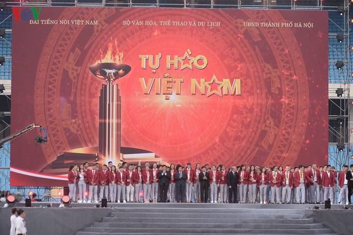 Tổng Giám đốc Đài TNVN Nguyễn Thế Kỷ dự lễ tôn vinh Đoàn thể thao Việt Nam - ảnh 1