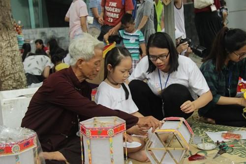 Bảo tàng Dân tộc học Việt Nam tổ chức Tết Trung Thu cho trẻ em - ảnh 1
