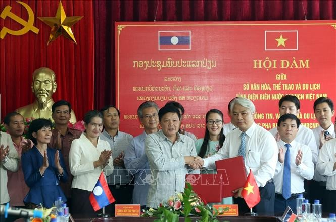 Tăng cường hợp tác du lịch giữa tỉnh Điện Biên và tỉnh Luangprabang - ảnh 1